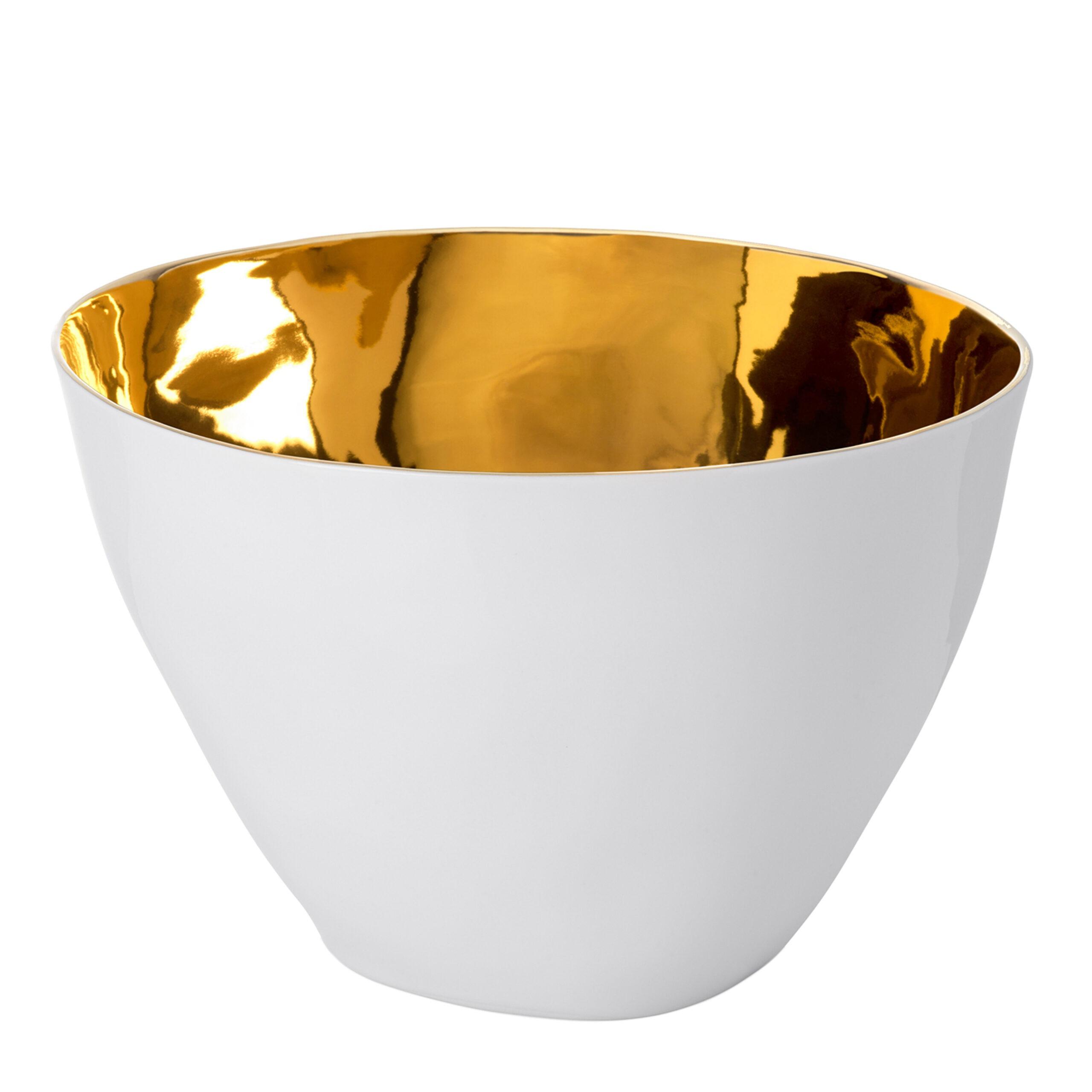 Real Gold glazed interior