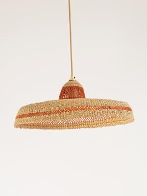 Hatter-ginger-pending lamp