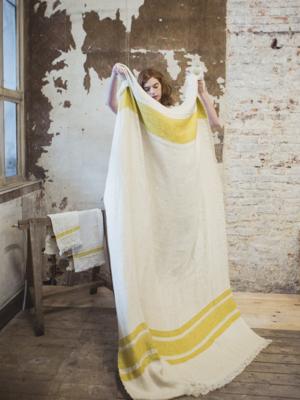 mustard-stripe-linen-throw
