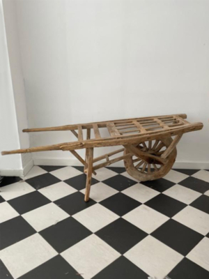 antique-wheelbarrow-elm-wood