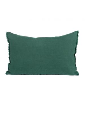 wash-linen-cushion-forest-green