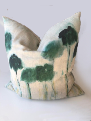 reflejos-palmiers-painting-linen-cushion